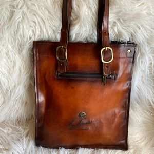 L. Howard Artistry in Leather Tote Bag